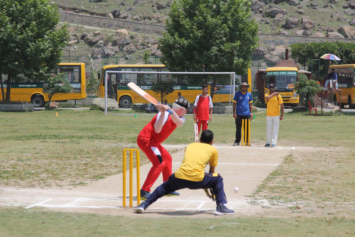 First ever blind cricket tournament held by DPS Srinagar