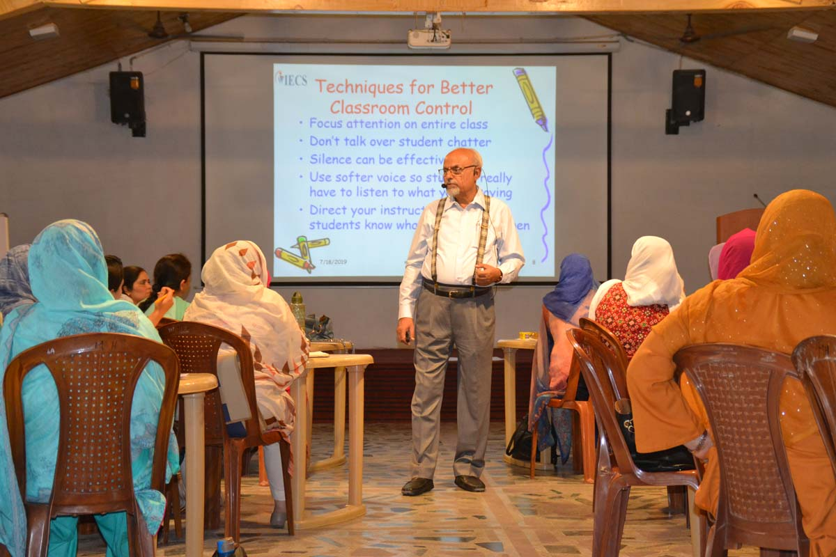 Teacher training workshop held