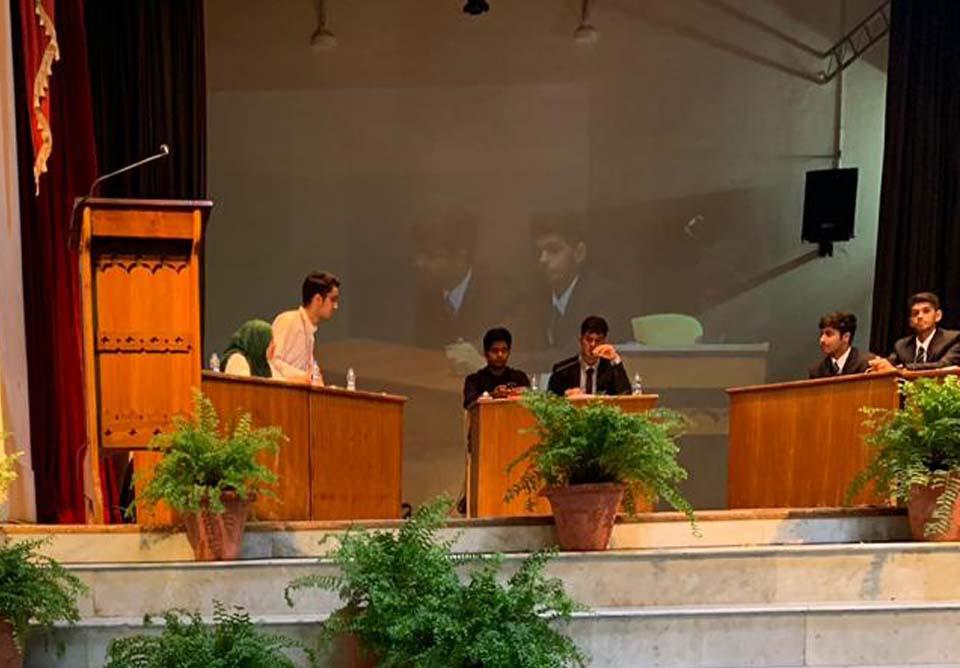 School participates in Claude Martin Debate at Lucknow
