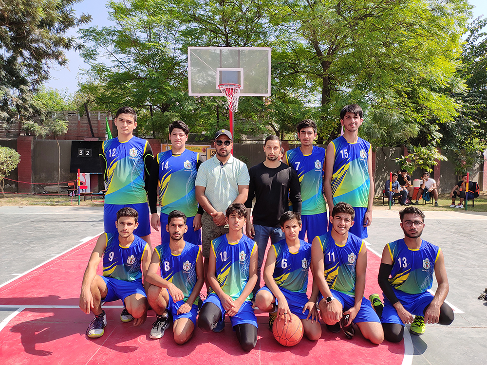 School participated in Inter DPS basketball tournament at DPS Jalandhar