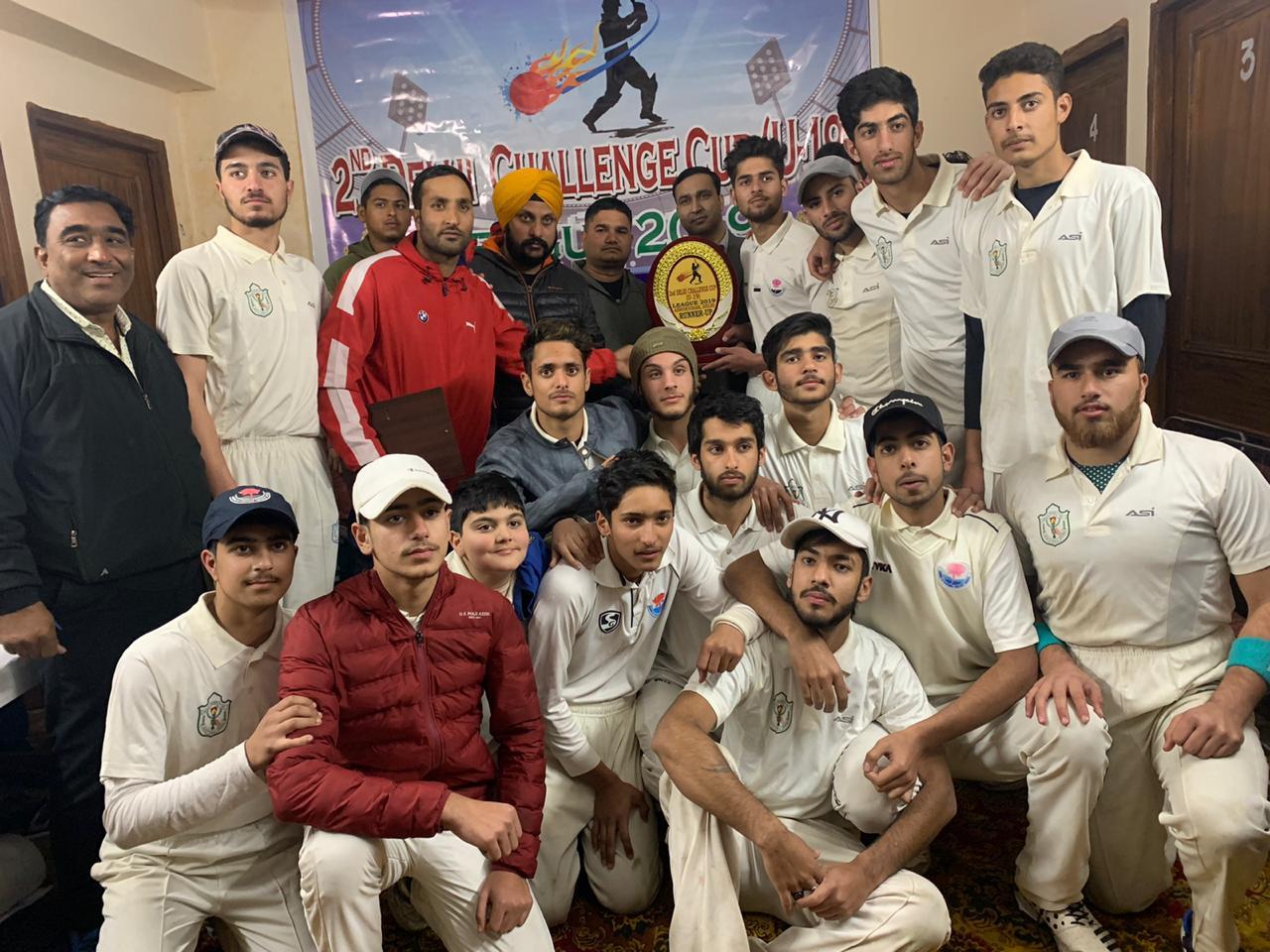 DPS Srinagar emerges runner up in 2nd Delhi Challenge Cricket cup
