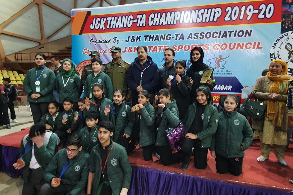 School Thang Ta team wins 14 medals