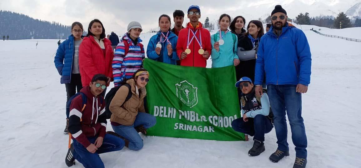 DPS Srinagar wins five medals at Khelo India Winter games