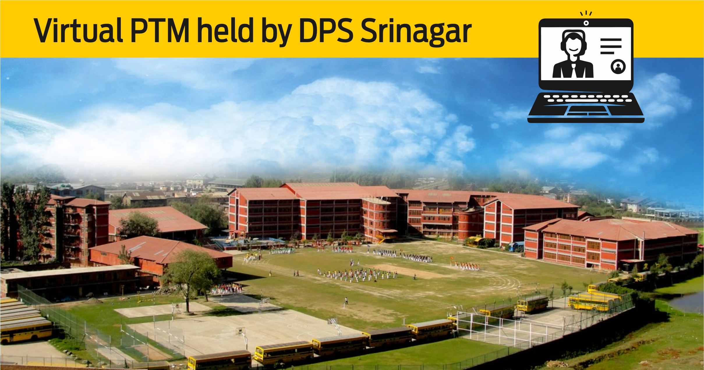 First of its kind Virtual PTM held by DPS Srinagar