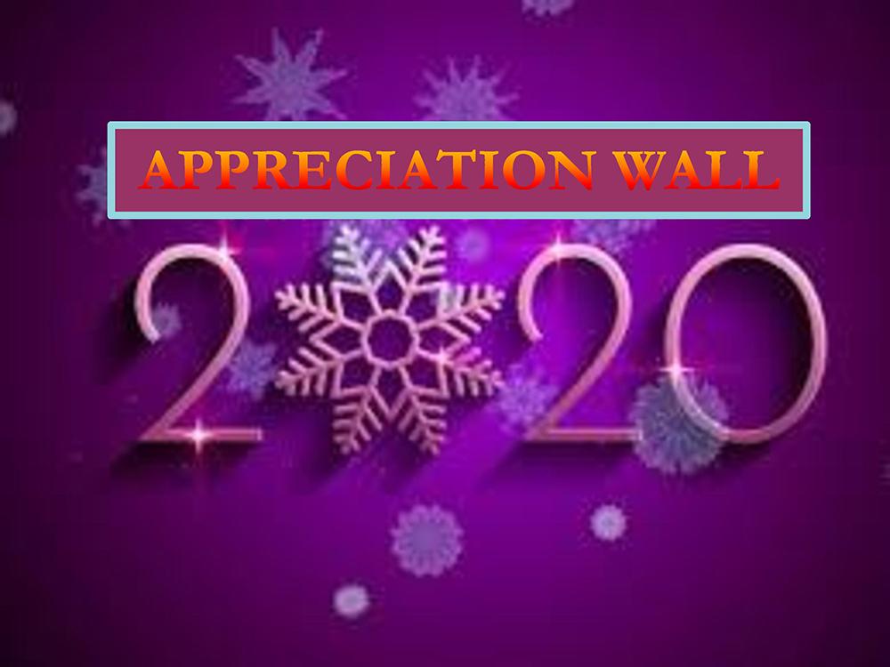 Appreciation Wall