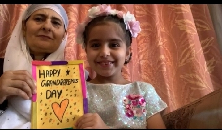 Grandparents Day celebrated online by school