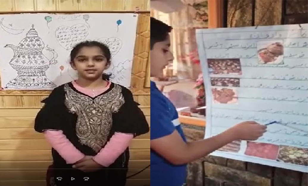 Kashmiri activity held for students