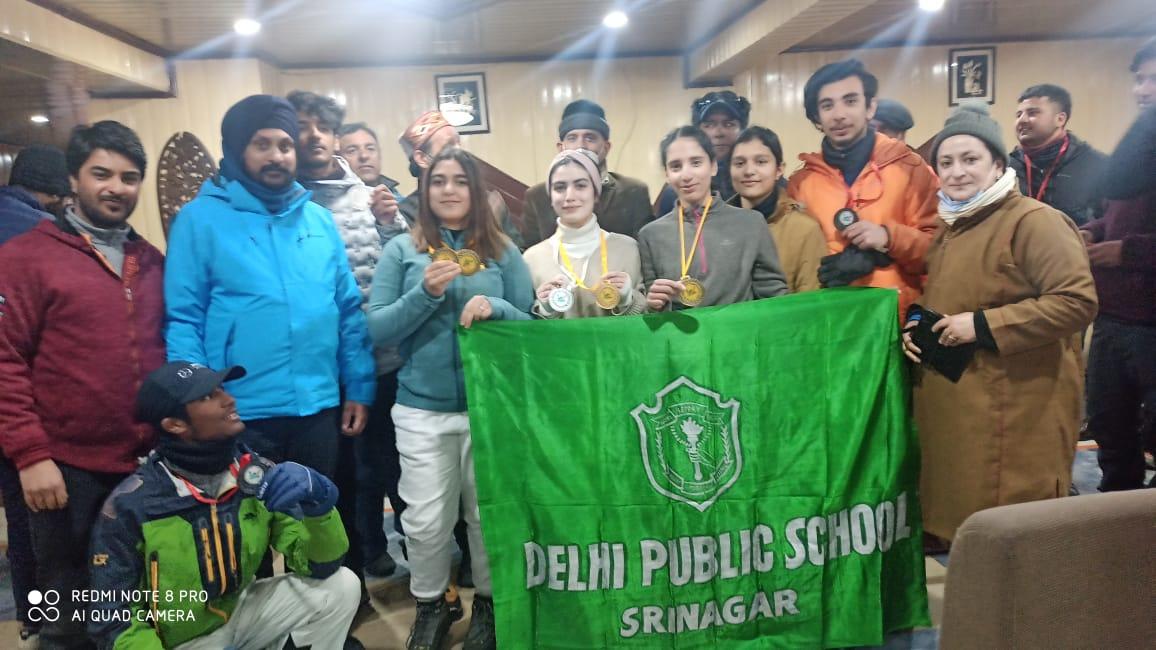DPS Srinagar wins medals in several events
