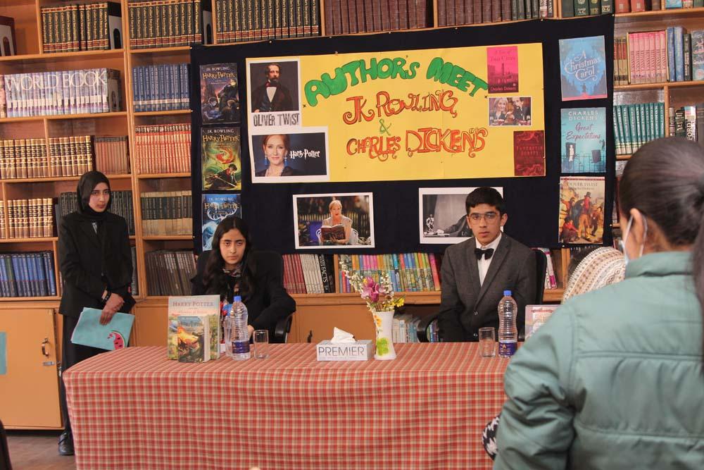 Author's meet held in school