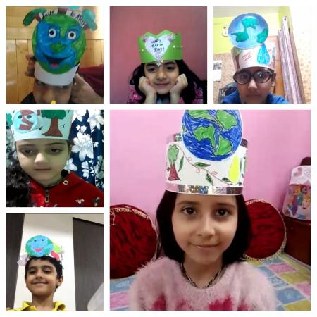 Friday Activity (Earth day special crown making)
