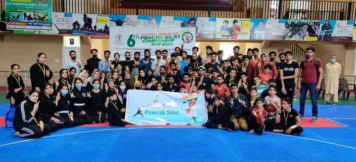 DPS Srinagar wins rich haul in 6th District Pencak Silat Championship