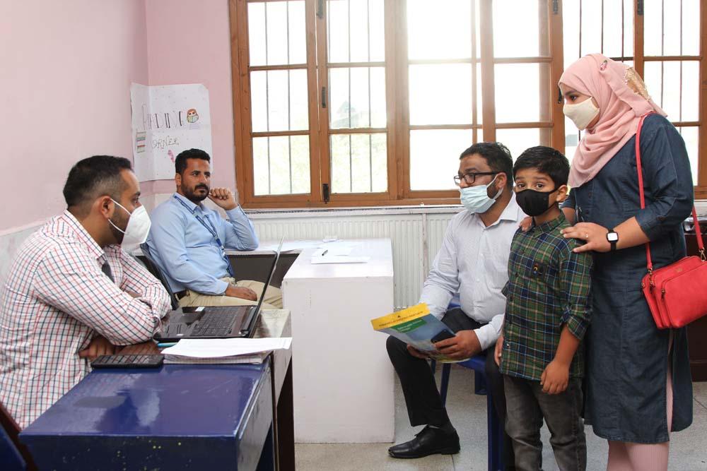 Parent Teacher Meet held for class 7th