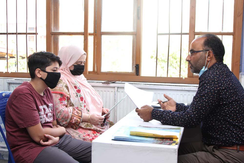 Parent Teacher Meet held for class 8th