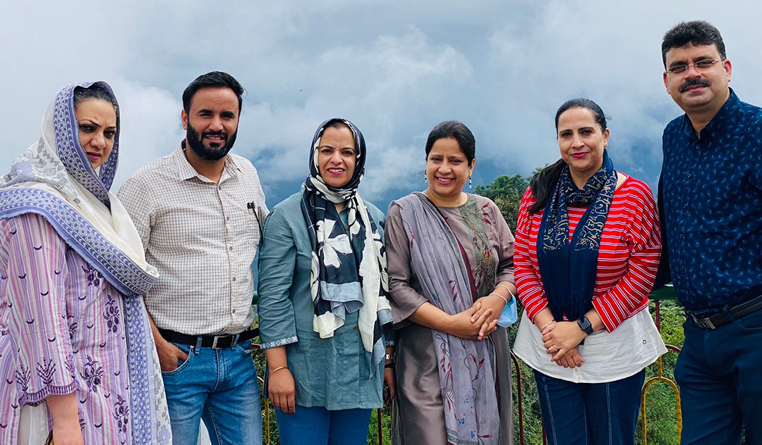 Vice-Principal among five HOD's participate in 'Annual Leadership Conclave'