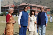 Mr Shashi Tharoor visits DPS Srinagar